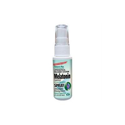 Nature's Plus - Melatonin Lipoceutical Spray Natural Peppermint - 2 oz.