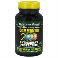 Nature's Plus Commando 2000 Antioxidant Protection - 90 Tablets