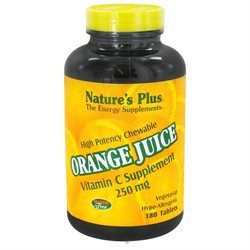 Nature's Plus Orange Juice C 250mg - 180 - Chewable [Misc.]