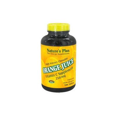 Nature's Plus Orange Juice C 250mg - 180 - Chewable [Misc.]
