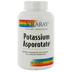 Solaray - Potassium Asporotate 99 mg. - 200 Capsules