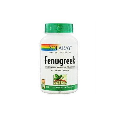 Solaray Fenugreek Seeds - 620 mg - 180 Capsules