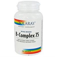 Solaray B-Complex 75 - 100 Capsules