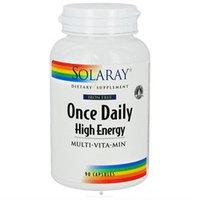 Solaray Once Daily High Energy Multi-Vita-Min (Iron Free)