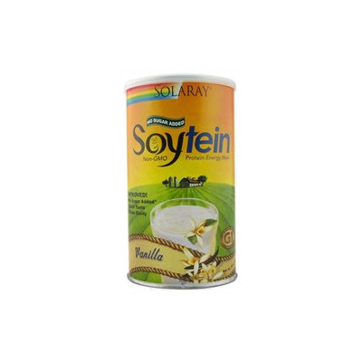 Solaray - Soytein Protein Energy Meal Vanilla - 408 Grams