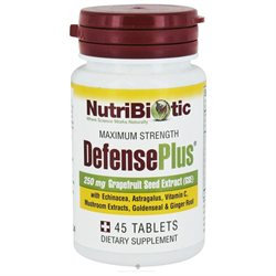 Nutribiotic - Maximum Strength Defense Plus 250 mg. - 45 Tablets