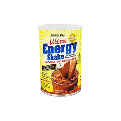 Nature's Plus Ultra Energy Shake Supercharged Chocolate - 0.8 lbs
