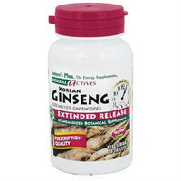 Nature's Plus Korean Ginseng Extended Release - 1000 mg - 30 Tablets