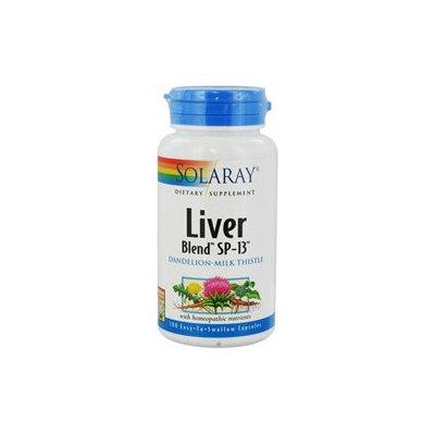 Solaray Liver Blend SP-13 - 100 Capsules