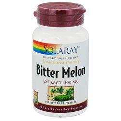 Solaray Bitter Melon Extract 500 mg - 30 Capsules