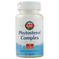 Kal - Phytosterol Complex - 60 Tablets Formerly Cholestatin