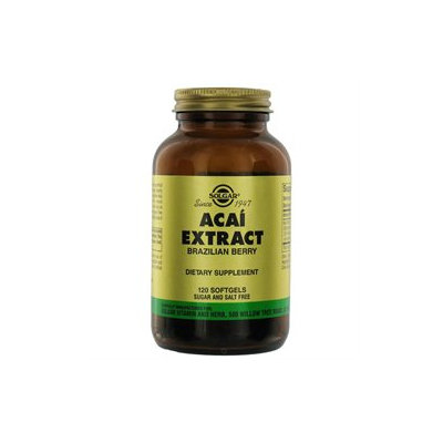 Solgar - Acai Extract Brazilian Berry - 120 Softgels