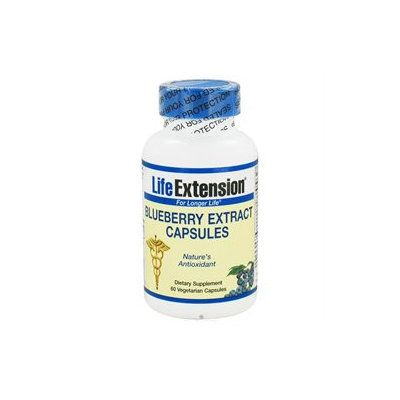 Life Extension - Blueberry Extract Capsules - 60 Vegetarian Capsules