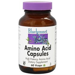 Bluebonnet Nutrition - Amino Acid High Potency - 60 Vegetarian Capsules