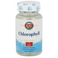 KAL Chlorophyll 20 MG - 100 Tablites - Other Green / Super Foods