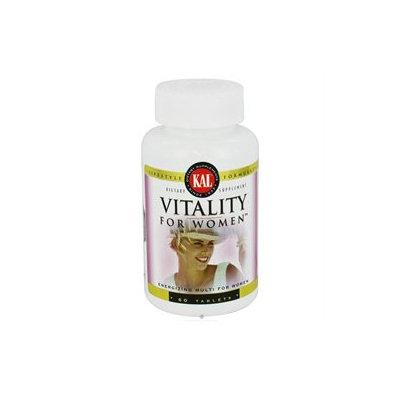 KAL Vitality For Women - 60 Tablets - Women's Multivitamins