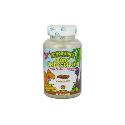 Kal Dinosaurs Dino Colostrum Chocolate - 300 mg - 60 Chewables