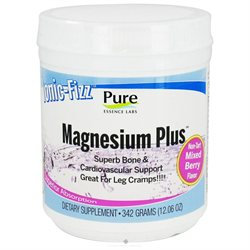 Pure Essence Labs Ionic-Fizz Magnesium Plus Mixed Berry - 12.06 oz