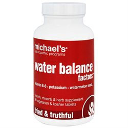 Michael's Health Products Water Balance Factors - 90 Tablets - Other Herbs