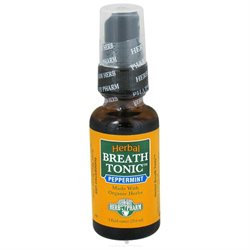 Herb Pharm - Herbal Breath Tonic Peppermint - 29.6 ml.
