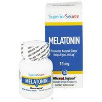 Superior Source - Melatonin Instant Dissolve 10 mg. - 100 Tablets