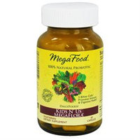 MegaFood - DailyFoods Kids N' Us MegaFlora - 60 Vegetarian Capsules