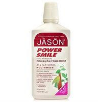 Jason Natural Cosmetics - Powersmile Cinnamon Mint Mouthwash, 16 fl oz liquid