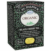 St. Dalfour Organic Tea Black Cherry - 25 Tea Bags