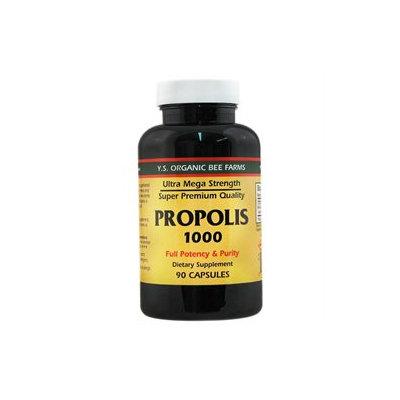 YS Organic Bee Farms - Propolis Caps 1000 mg. - 90 Capsules