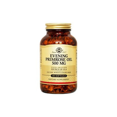 Solgar - Evening Primrose Oil 500 mg. - 180 Softgels