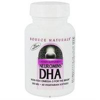 Source Naturals Neuromins DHA 200mg, 60 Vegetarian Softgels