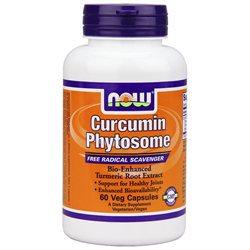 NOW Foods - Bio-Curcumin Phytosome Bio-Enhanced Turmeric Root Extract with Meriva 500 mg. - 60 Vegetarian Capsules