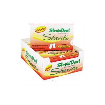 Stevita - SteviaDent Chewing Gum Cinnamon - 12 Pieces