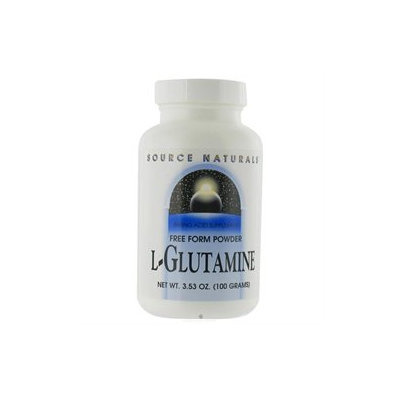 Source Naturals L-Glutamine Powder, 100 grams