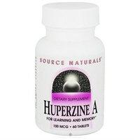 Source Naturals Huperzine A - 100 mcg - 60 Tablets