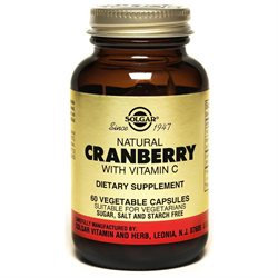 Solgar Natural Cranberry Extract with Vitamin C