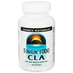 Source Naturals - Tonalin 1000 CLA 1000 mg. - 60 Softgels
