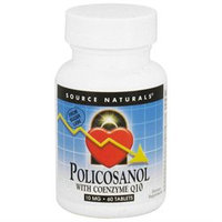 Source Naturals Policosanol 10 mg with CoQ10 15 mg Tabs
