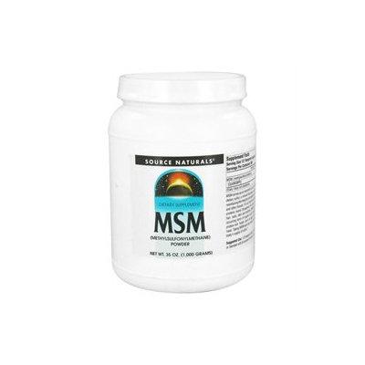 Source Naturals - MSM Methylsulfonylmethane Powder - 35 oz.