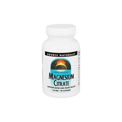 Source Naturals Magnesium Citrate - 133 mg - 90 Capsules