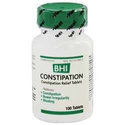Heel BHI Constipation Homeopathic Medication - 100 Tablets
