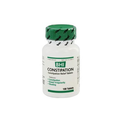 Heel BHI Constipation Homeopathic Medication - 100 Tablets