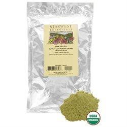 Starwest Botanicals Alfalfa Leaf Powder Organic - 1 lb