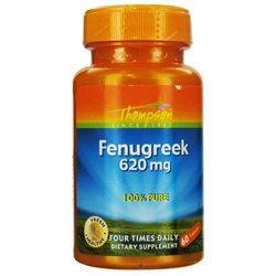 Fenugreek 620mg by Thompson Nutritional - 60 Capsules