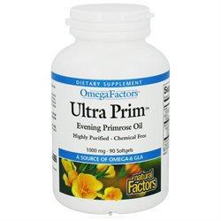 Evening Primrose Oil 1000mg by Natural Factors - 90 Softgels