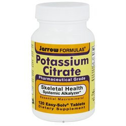 Jarrow Formulas - Potassium Citrate - 120 Tablets