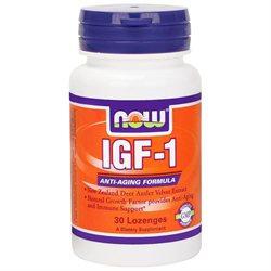 NOW Foods - IGF-1 Deer Antler Velvet Extract - 30 Lozenges