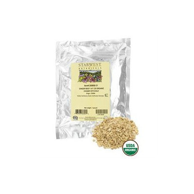 Starwest Botanicals - Bulk Ginger Root 1/4