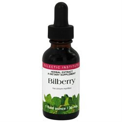 Eclectic Institute - Bilberry Herbal Extract - 1 oz.
