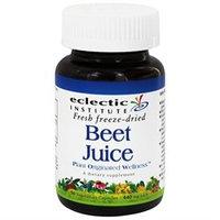 Eclectic Institute Beet Juice - 50 Vegetarian Capsules